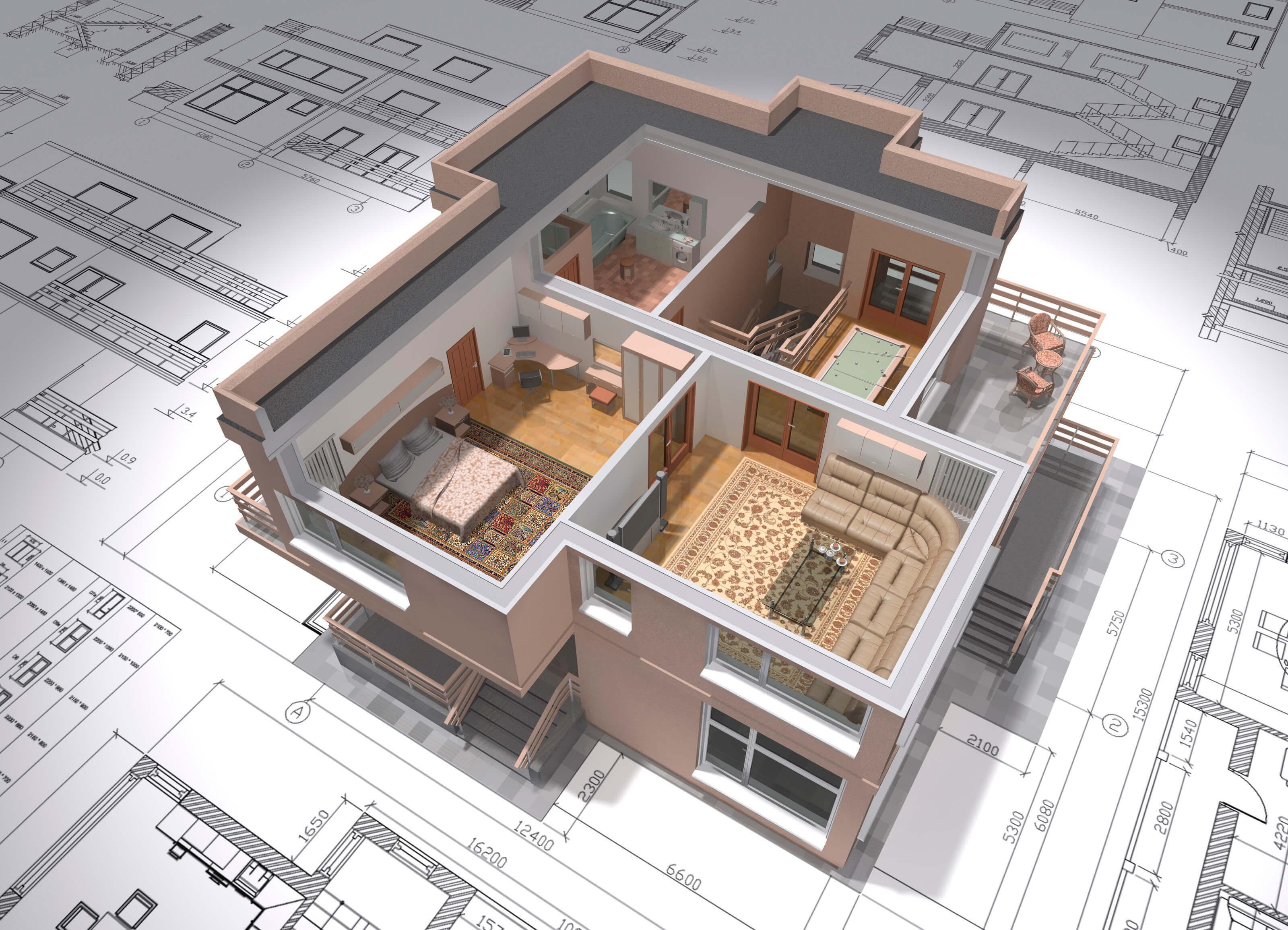 Дизайн проект квартиры в Москве 25