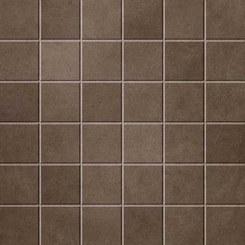 Мозаика Atlas Concorde Dwell Wall & Floor Design Brown Leather Mosaico 30x30